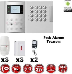special pack Télésurveillance Tecacom Cameroun